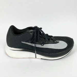 Nike 5 Zoom Fly Running Shoes Black White Racing